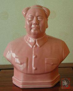 Ceramic Chairman Mao Bust