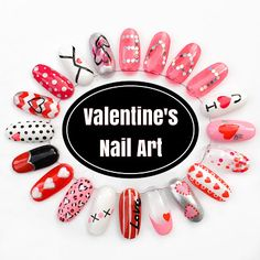 The Polish List: Valentines 2016 - Nail Art Wheel