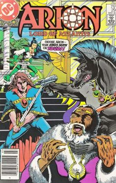 Cover for Arion, Lord of Atlantis (DC, 1982 series) #29