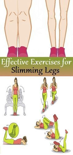 Effective exercises for slimmer legs
