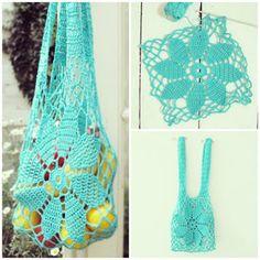 Aprendiz de Crocheteiras: Ecobag de Crochê | Ganhe Mais Círculo