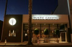 """Rustic Canyon  in Santa Monica, CA is a """"must eat""""! Farm fresh vegetables selected that day  and an excellent wine list."""