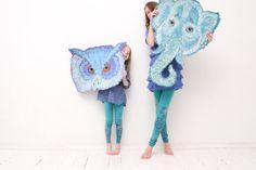 Mint green diamond children's leggings