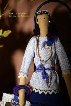 El blog de Mari Carmen (Patchwork, tildas y más labores): Tilda