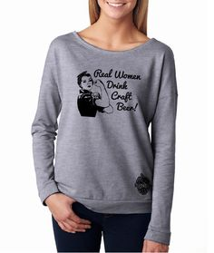 Long-Sleeve Real Women Drink Craft Beer shirt by hopcloth on Etsy https://www.etsy.com/listing/209964456/long-sleeve-real-women-drink-craft-beer