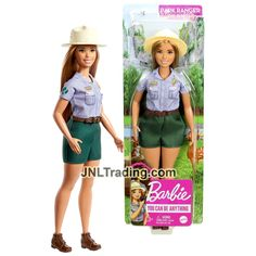 Year 2019 Barbie Career You Can Be Anything Series 10 Inch Doll - Hisp – JNL Trading You Can Be Anything, Barbie Collection, Ranger, Curvy, Dolls, Park, Fashion, Moda, Fashion Styles