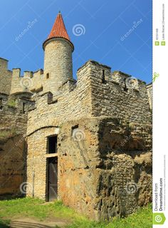 Kokorin Castle Tower, Czech Republic -