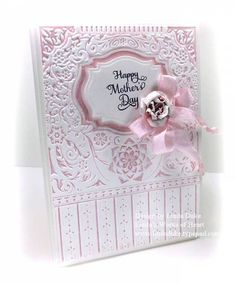 Happy Mother's Day, 3D M-Bossabilities by Linda D - Cards and Paper Crafts at Splitcoaststampers