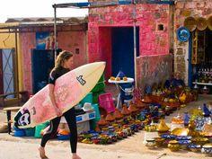Surfing in Morocco - via NonStop