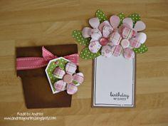 Ideas birthday card template flower pots for 2019 Cool Birthday Cards, Homemade Birthday Cards, Birthday Card Template, Homemade Cards, Craftwork Cards, Cards For Friends, Friend Cards, Mothers Day Cards, Card Tutorials