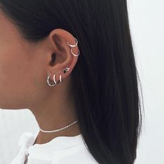 Conch Ear Cuff Gold and Mint Turquoise Dragonfly Wings/cartilage ear cuff climber/ear jacket manchette/fake false piercing/ohr faux piercing - Custom Jewelry Ideas Piercing Anti Tragus, Piercing Snug, Double Ear Piercings, Ear Peircings, Cute Ear Piercings, Piercings Ideas, Back Piercings, Ear Piercings Conch, Crystal Earrings