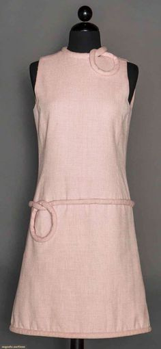 Pierre Cardin Day Dress, C. 1965