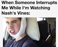 Not just Nash but this is too funny not to pin