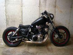 Bobber Honda Bobber, Yamaha Virago, Virago 535, Bobber Bikes, Tracker Motorcycle, Bobber Motorcycle, Bobber Chopper, Harley Davidson Motorcycles, Custom Motorcycles