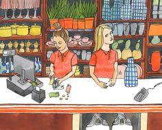 Illustration / Jij & Wij Magazine - Bodil Jane