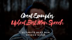 From sentimental to serving up great one-liners, our best man speech examples will help get those creative juices flowing & save you time! Best Man Wedding Speeches, Best Speeches, Best Man Speech Examples, Great One Liners, One Liner Jokes, Groom's Speech, Maid Of Honor Speech, Wedding Toasts, The Orator