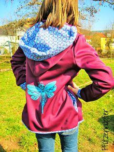 lillesol & pelle Schnittmuster/ sewing pattern: Übergangsjacke / Jacket