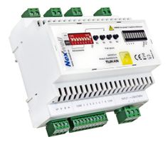 NXW222.4 - LIGHTING CONTROLLER 4X (WITH DIMMER) TUKAN XT DIN