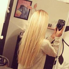 long blond | http://besthairstylesforgirls.blogspot.com
