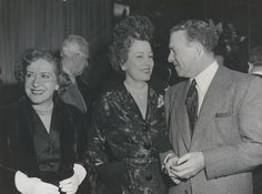 Irene Dunne with George Burns and Gracie Allen