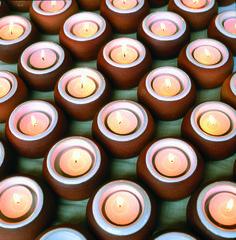 Night lights by Stephen Pearce Pottery. Irish Pottery, Pottery Shop, Night Lights, Earthenware, Candles, Handmade, Hand Made, Candy, Candle Sticks