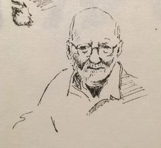 Oude man. Januari 2016.