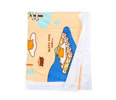 Gudetama Big Towel: Jungle