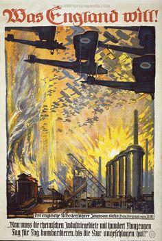 Examples of Propaganda from WW1 | German WW1 Propaganda Posters Page 19