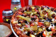 Add some spice to your day with #PizzaManDans El Diablo Fuego pizza!  www.pizzamandans.com