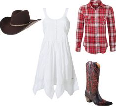"""cowgirl fun"" by chanda-hoyt-lord on Polyvore"