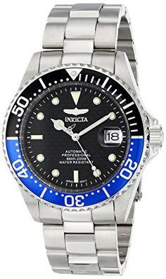 "Invicta Men's 15584SYB ""Pro Diver"" Stainless Steel Bracelet Watch ** Visit the image link more details."