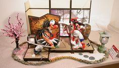 Samurai Spirits diorama