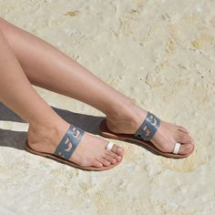 Kyma sandals - by Love From Cyprus