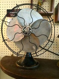 50's Oscillating Fan   Great Condition   $225  Booth 766  Lula B's 2639 Main St. | Dallas, TX 75226  Like Mid Century Dallas on Facebook: http://www.facebook.com/pages/Mid-Century-Dallas/46