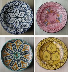 moroccan style plates