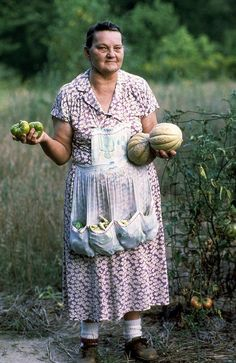 Wonderful photo of an Indiana farmer's wife.