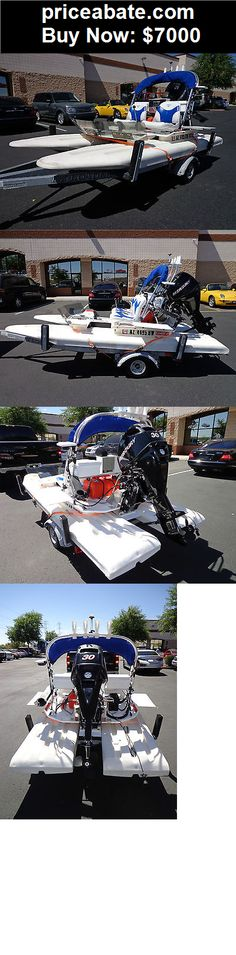 Boats: 2009 CraigCat E2 Elite boat with low hours. Trailer included. - BUY IT NOW ONLY $7000