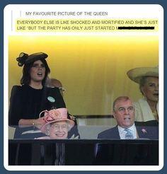 Queen Elizabeth II, ladies and gentlemen...