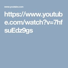 https://www.youtube.com/watch?v=7hfsuEdz9gs