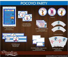 Pocoyo Birthday Party Printable