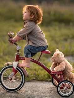 """Taking Teddy For A Ride."""