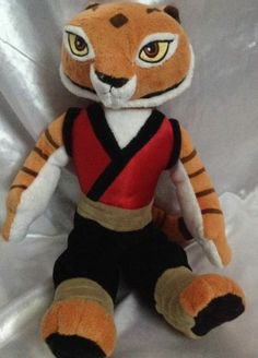 "Kung Fu Panda Tigress 14"" Kohls Cares for Kids Stuffed Plush Animal Dreamworks"