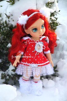 Winter set für Disney Animator Puppen von FairyTaleLOVEit auf Etsy