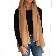751ff46ad8ab51 Look Sweater Wrap Camel