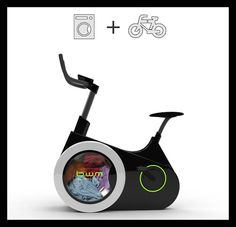 Awful or Awesome?  Exercise Bike that powers a built in Washing Machine from 10 Bad Mother's Day Gifts via @NoDomesticDivas  funny gifts  Mother's Day Gifts   Bad Mother's Day