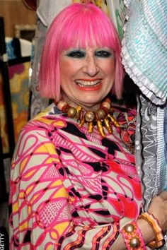 Zandra Rhodes (English fashion designer)