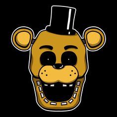 ======= Shirt for Sale ======= Golden Freddy Five Nights at Freddy's tshirt by Kaiserin. =========================   #FNAF