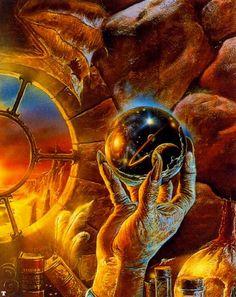 Bob Eggleton artist  Crystal Ball