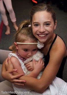 Mackenzie and Natalya at Mackenzie Zieglers 11th Birthday Party at the ALDC Credit to: @TalentedDancers