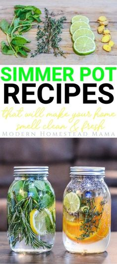 Simmer Pot Recipes That Will Make Your Home Smell Clean & Fresh - Organic Recipes Homemade Potpourri, Simmering Potpourri, Stove Top Potpourri, Potpourri Recipes, Homemade Gifts, House Smell Good, House Smells, Diy All Purpose Cleaner, Home Scents